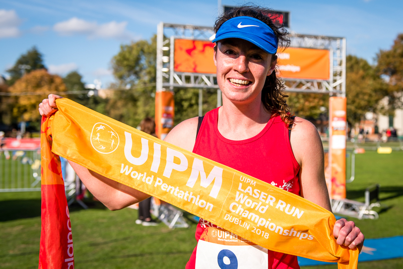 Uipm 2018 Laser Run World Championships Golden Glory For