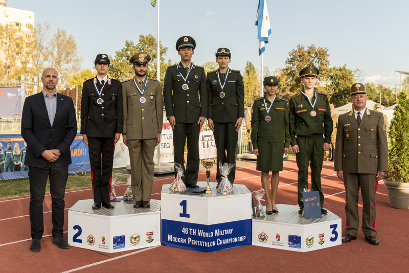 Cism 2018 Pentathlon Military World Championships Wang