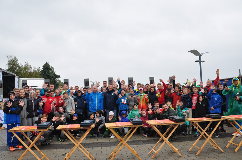 Uipm 2018 Global Laser Run City Tour Racers Surge Through
