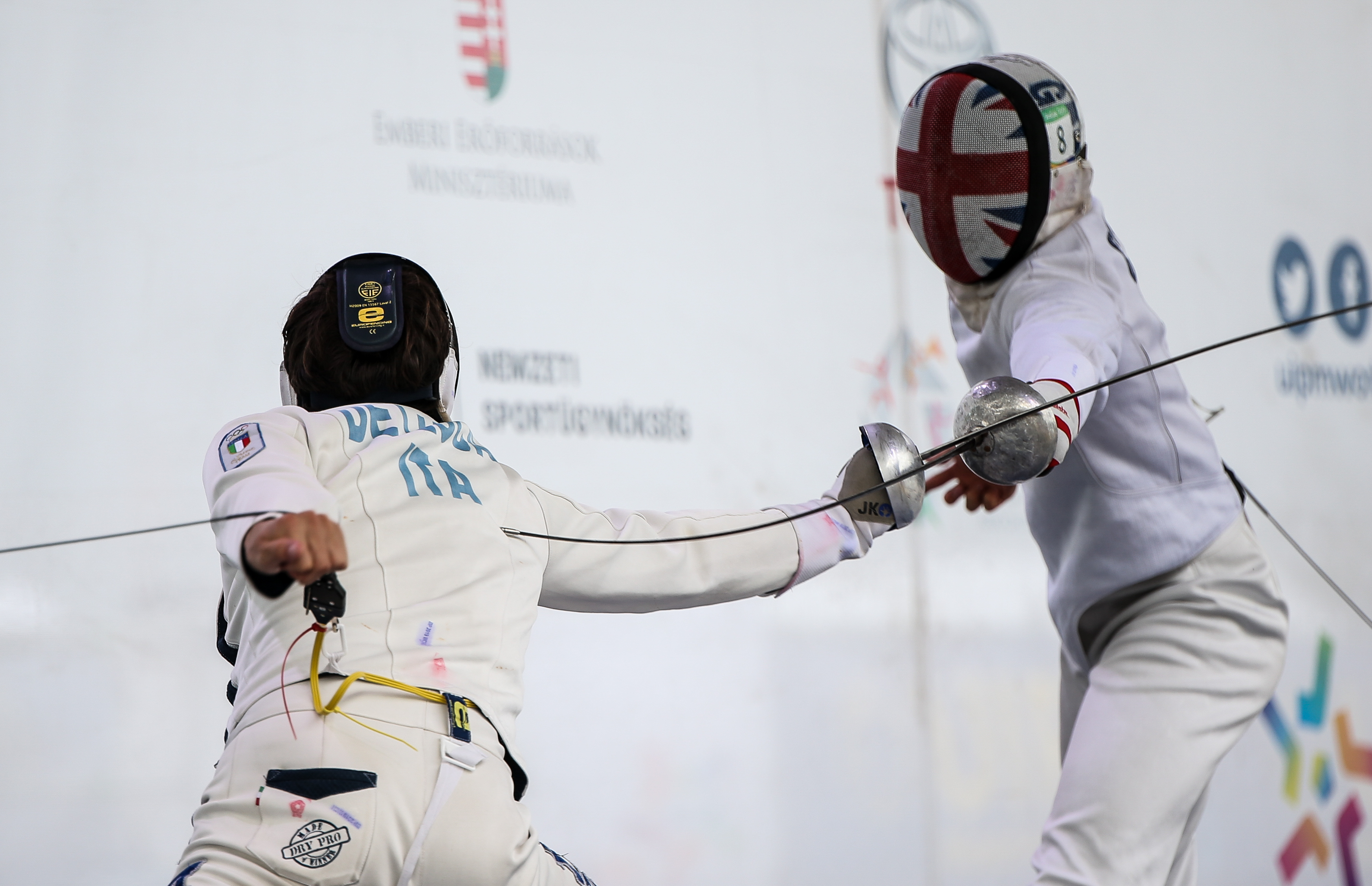 Men's Fencing at the UIPM 2019 Pentathlon World Championships in Budapest