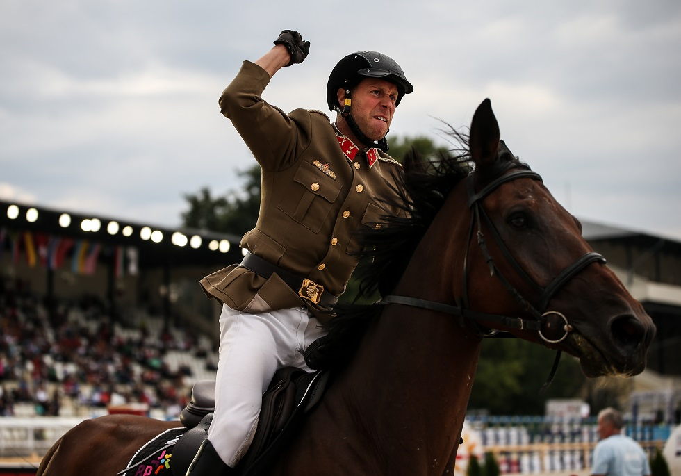 Men's Riding at the UIPM 2019 Pentathlon World Championships in Budapest