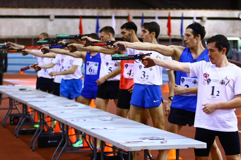 Russian Pentathletes Introduce Military Officers To Laser