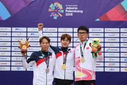Asian Games 2018: Golden glory for Zhang (CHN) and Jun (KOR
