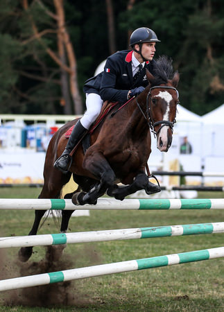 Valentin Prades 2017 UIPM World Cup Final winner in Riding