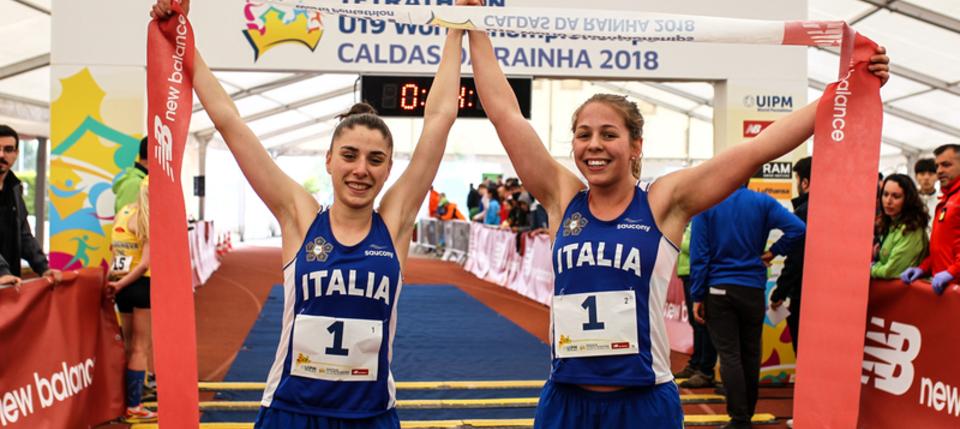 Uipm 2018 Tetrathlon U19 World Championships Italy Retain