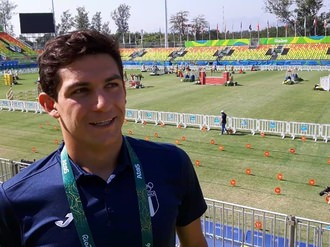 Charles Fernandez of Guatemala who will compete in Modern Pentathlon at the Rio 2016 Olympic Games