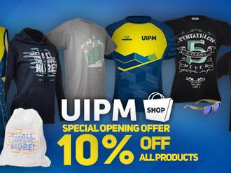 UIPM Shop Launch
