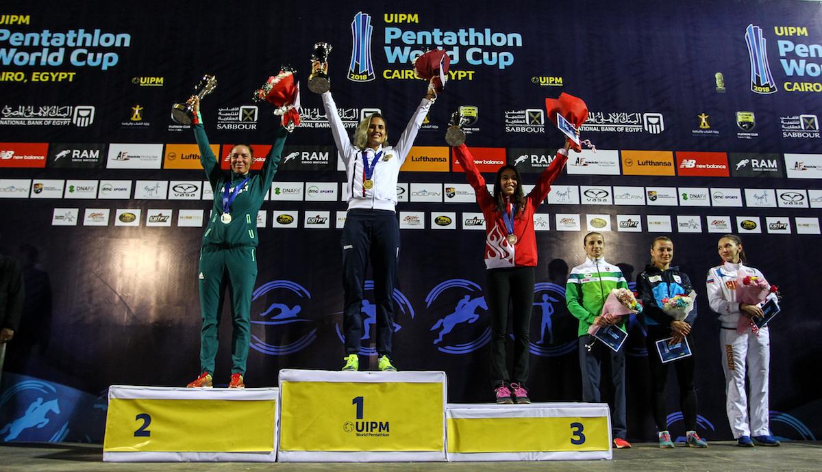 Uipm 2018 Pentathlon World Cup Cairo Clouvel Fra Opens